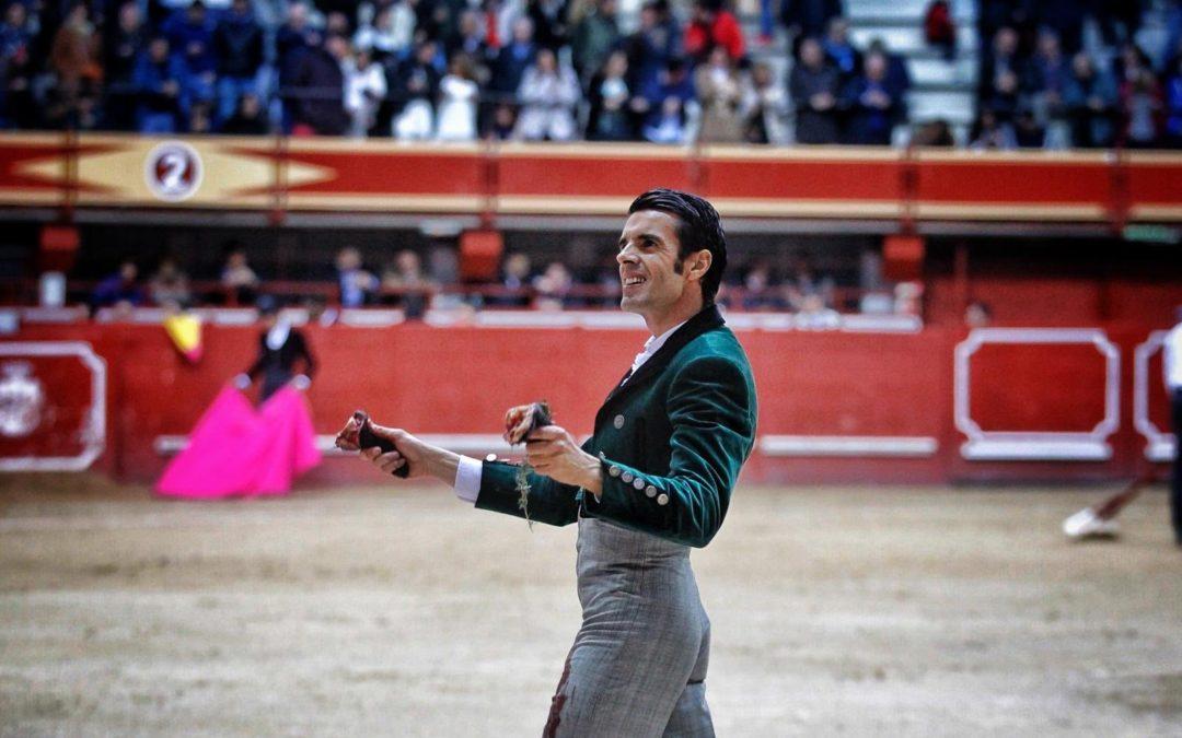 Aranda de Duero (29.02.2020) Deux oreilles pour Emilio de Justo pour le festival bénéfique. Ovation pour El Rafi.