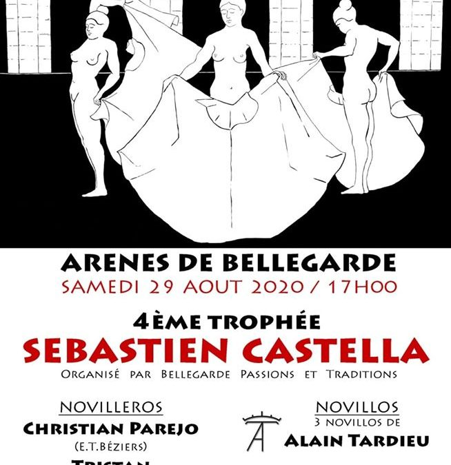 Bellegarde – Le IVe Trophée Sebastien Castella c'est ce samedi…