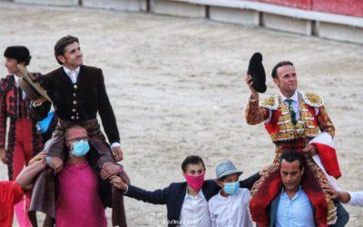 ARLES (13.09.2020, tarde) – ANTONIO FERRERA et DIEGO VENTURA pour un brillant final.