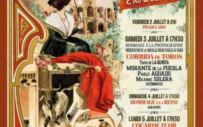 ARLES – Ouverture de la location pour la corrida du 3 juillet, la Cocarde d'or et le Rejon d'or…