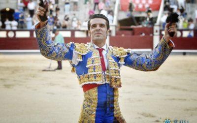 MADRID (04.07.2021) – La grande tarde d'EMILIO DE JUSTO, qui coupe trois oreilles et ouvre la grande porte de Las Ventas …