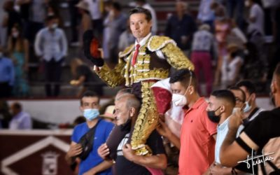 COLMENAR VIEJO (31.08.2021) – La grande tarde de DIEGO URDIALES qui coupe trois oreilles dont deux d'un toro de vuelta (VIDEO)