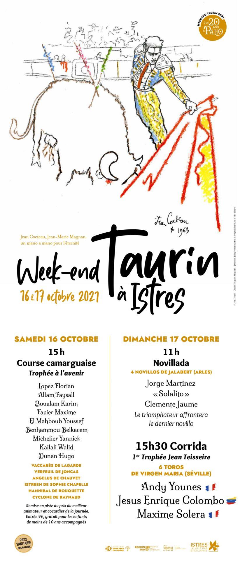 ISTRES – Ouverture de la billetterie pour la Journée Taurine du 17 octobre.