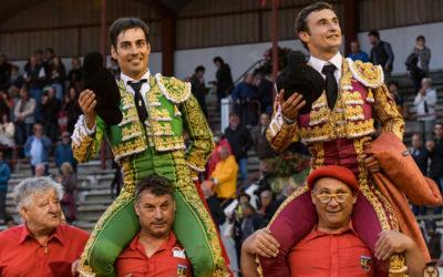 AIRE-SUR-L'ADOUR (19.09.2021) – DORIAN CANTON et GOMEZ DEL PILAR triomphent d'une corrida de Valdefresno.